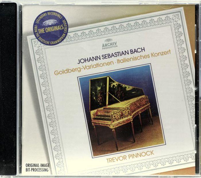 Trevor Pinnock. Bach: Goldberg Variations; Italian Concerto