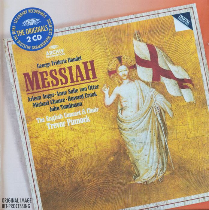 Trevor Pinnock. Handel: Messiah (2 CD) choir of the english concert the english concert orchestra барбара бонни стивен гэдд джейми макдугалл тревор пиннок кэтрин уин роджерс trevor pinnock mozart coronation mass