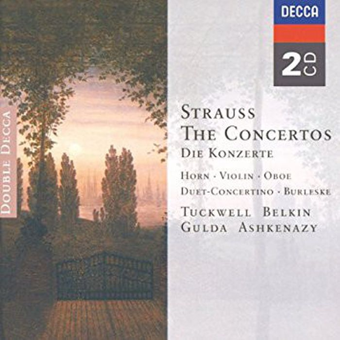 Various Artists. Strauss, R., Strauss, F.: The Concertos (2 CD) johann strauss orchester питер шмальфусс let s dance waltz 2 cd dvd