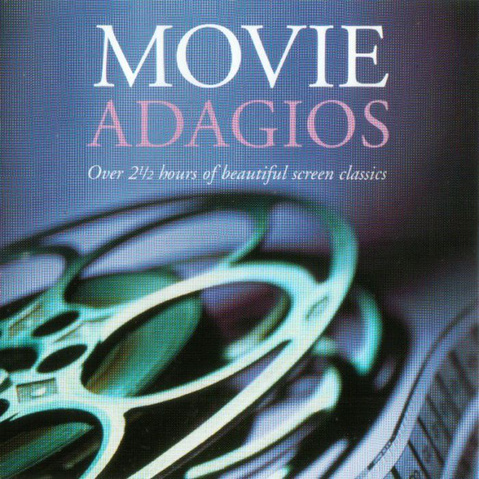 Various Artists. Movie Adagios (2 CD) various artists romantic piano adagios 2 cd