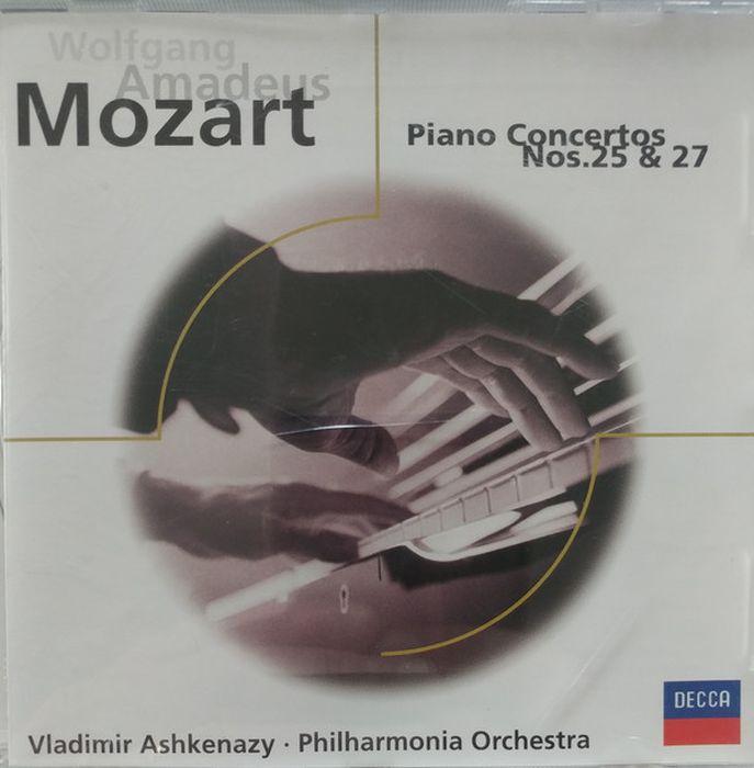 Vladimir Ashkenazy. Mozart: Piano Concertos Nos. 25 and 27 vladimir ashkenazy beethoven the piano concertos 3 cd