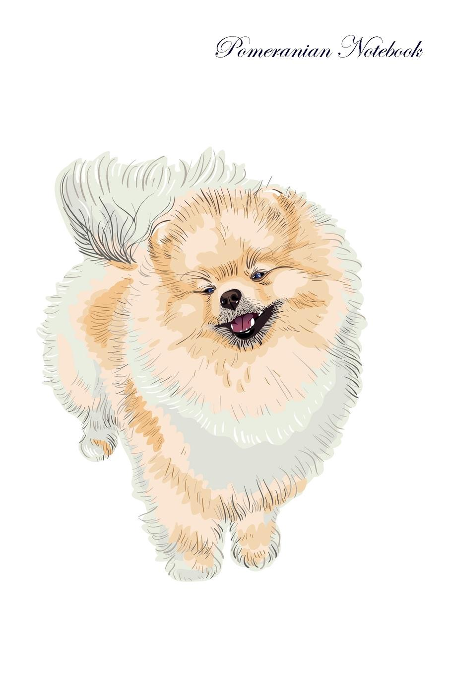 Pet Care Inc. Pomeranian Notebook Record Journal, Diary, Special Memories, To Do List, Academic Notepad, and Much More portable cute weekly planner sweet notebook fresh student schedule journal diary writing book school supplies