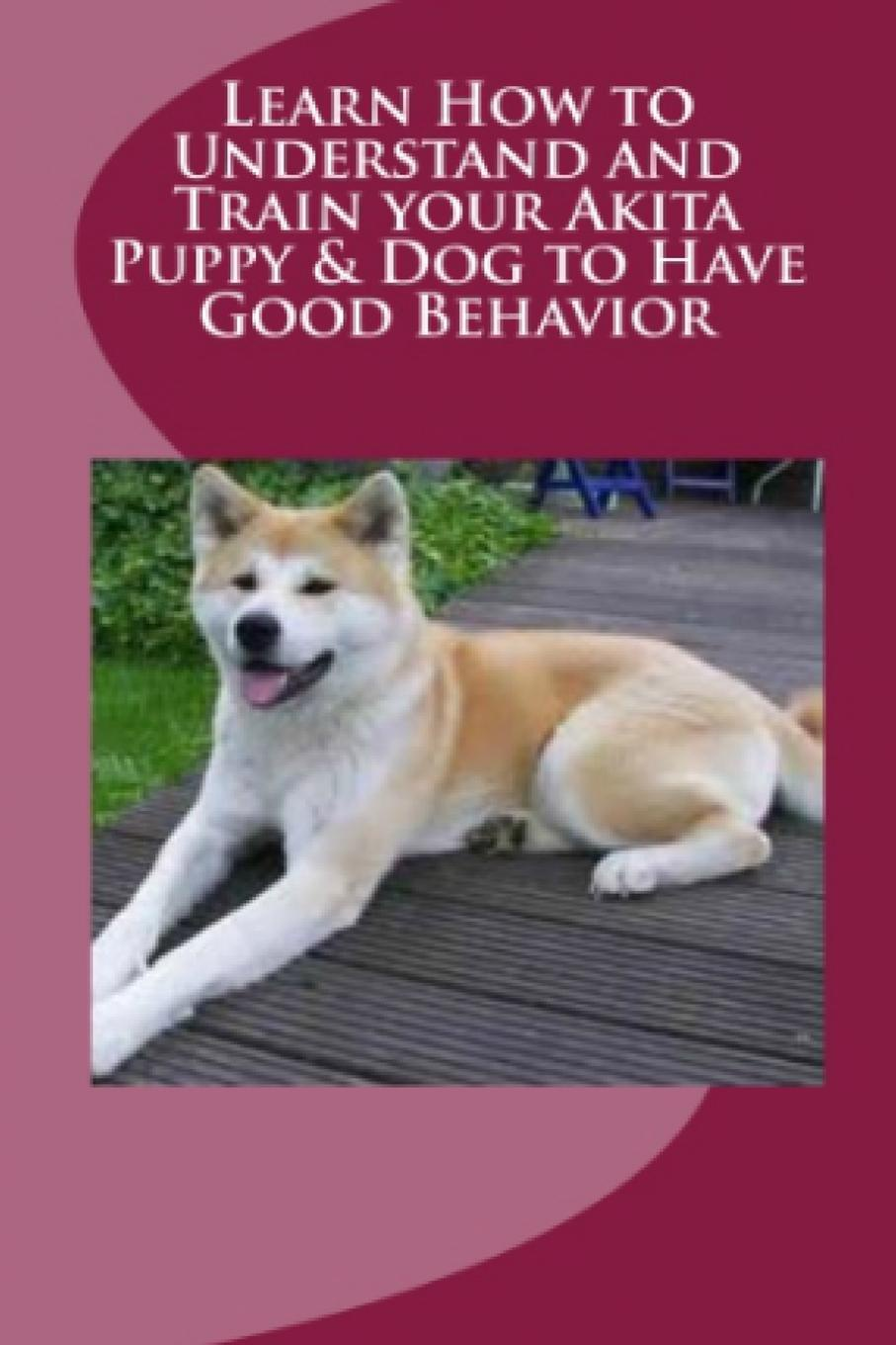 Vince Stead Learn How to Understand and Train your Akita Puppy . Dog to Have Good Behavior