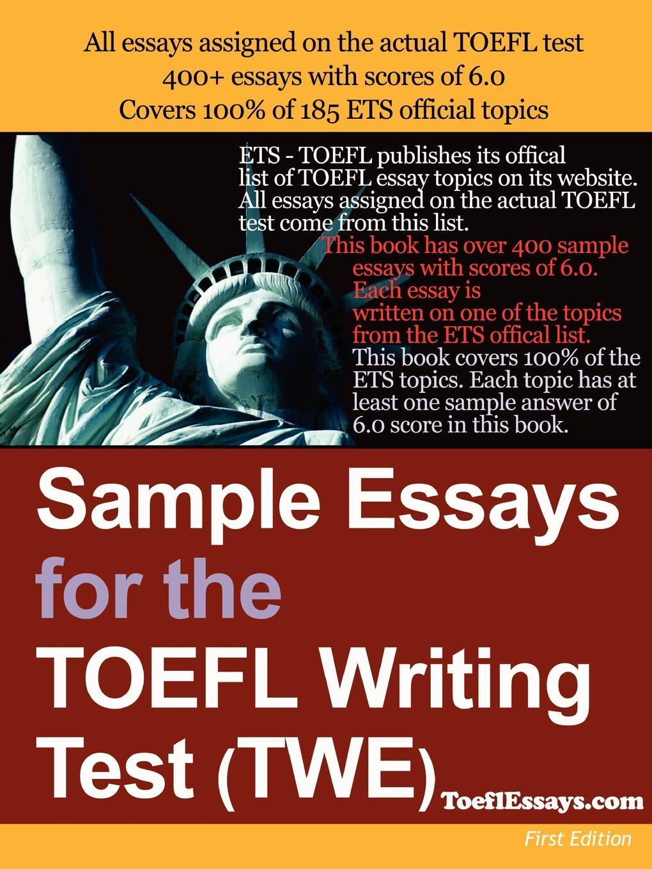 M. l'abbé Trochon Sample Essays for the TOEFL Writing Test (Twe) coggshall vanessa word smart for the toefl