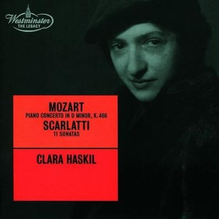 Clara Haskil. Mozart: Piano Concerto No.20/ Scarlatti: 11 Sonatas scarlatti scarlattijean rondeau sonatas