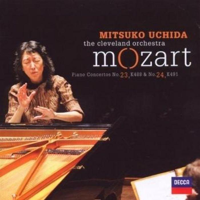 Мицуко Ючида Mozart. Piano Concertos Nos. 24 & 23 мицуко ючида schumann carnival kreisleriana