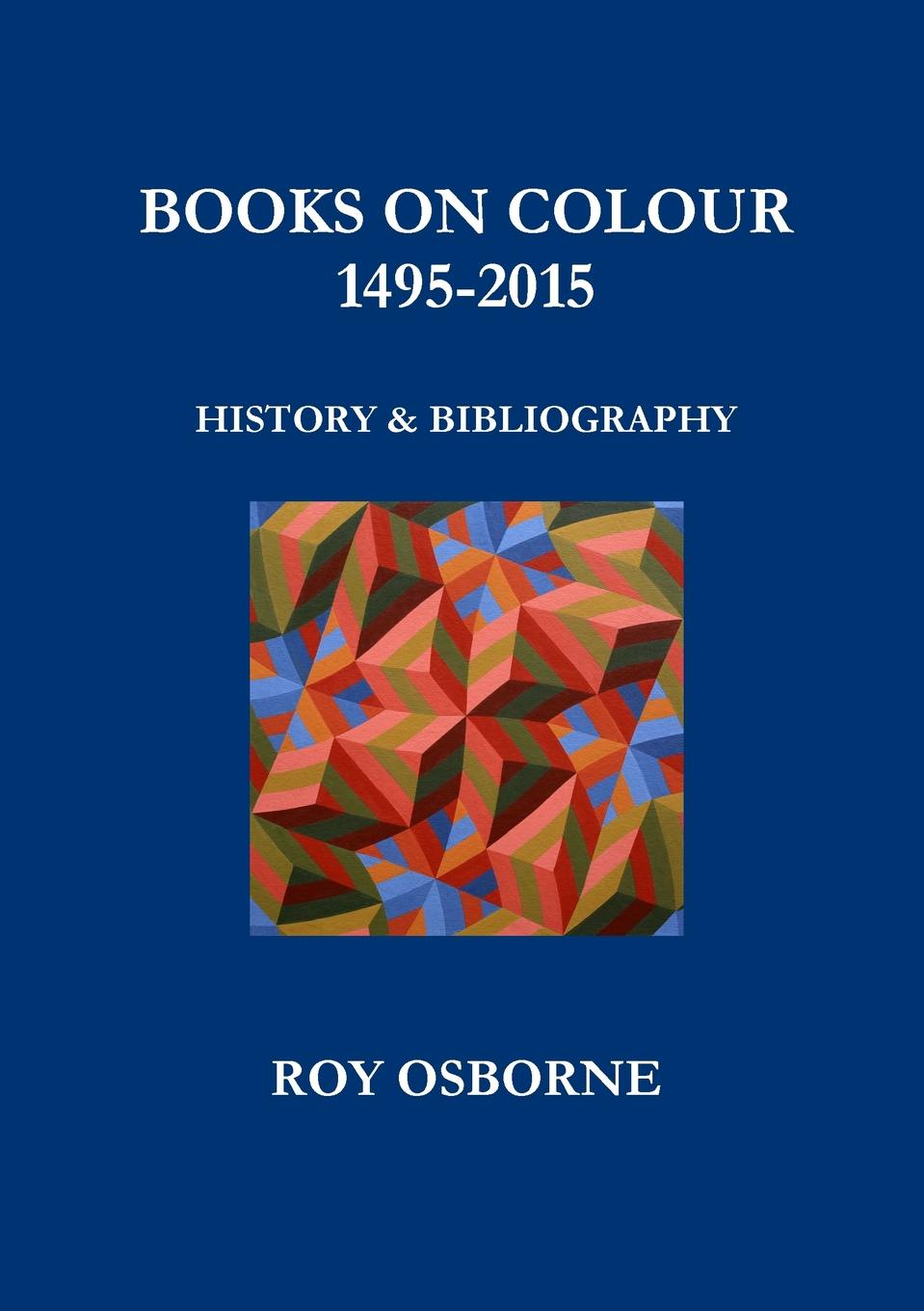 Фото - Roy Osborne Books on Colour 1495-2015. History and Bibliography concise colour block and circle pattern design men s slippers