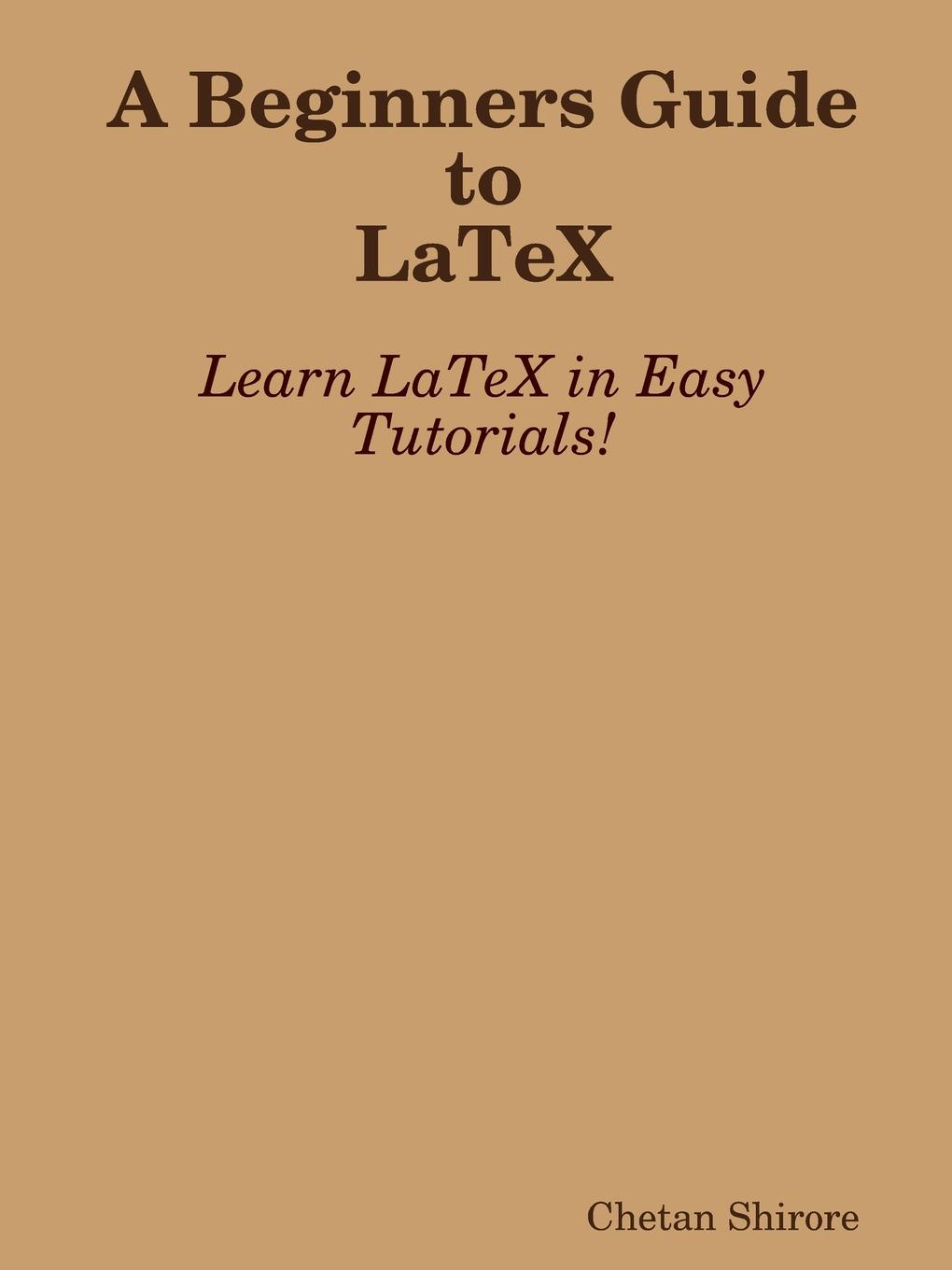 Chetan Shirore A Beginners Guide to Latex the conran beginners guide to decorating