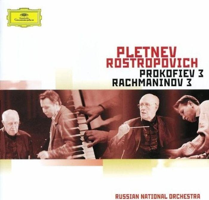 Mikhail Pletnev, Mstislav Rostropovich. Rachmaninov: Piano Concerto No.3 / Prokofiev: Piano Concerto No. 3 sergei rachmaninov piano concerto no 2 sergei prokofiev piano concerto no 5 sviatoslav richter