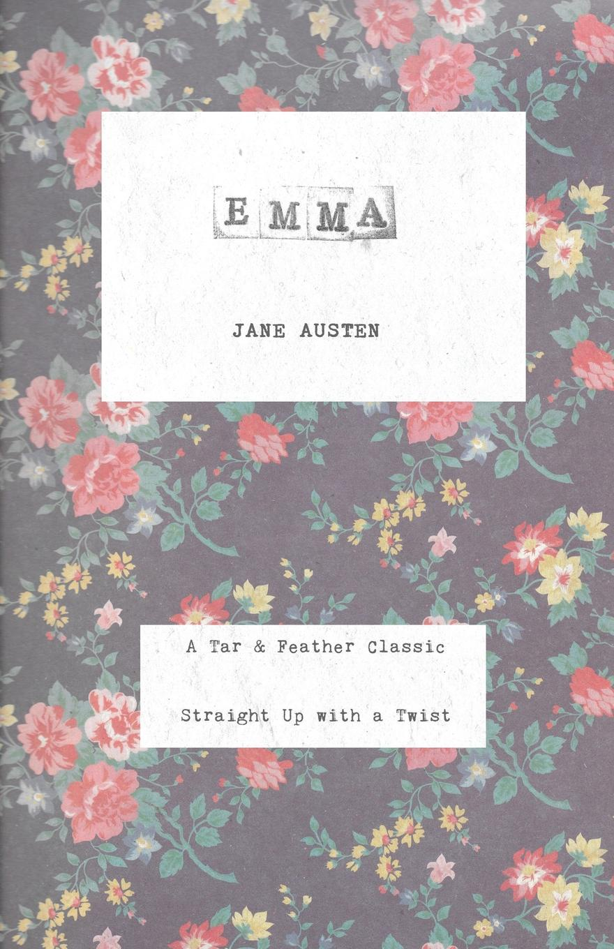 Jane Austen Emma. A Tar . Feather Classic, straight up with a twist. 2pcs pairing left