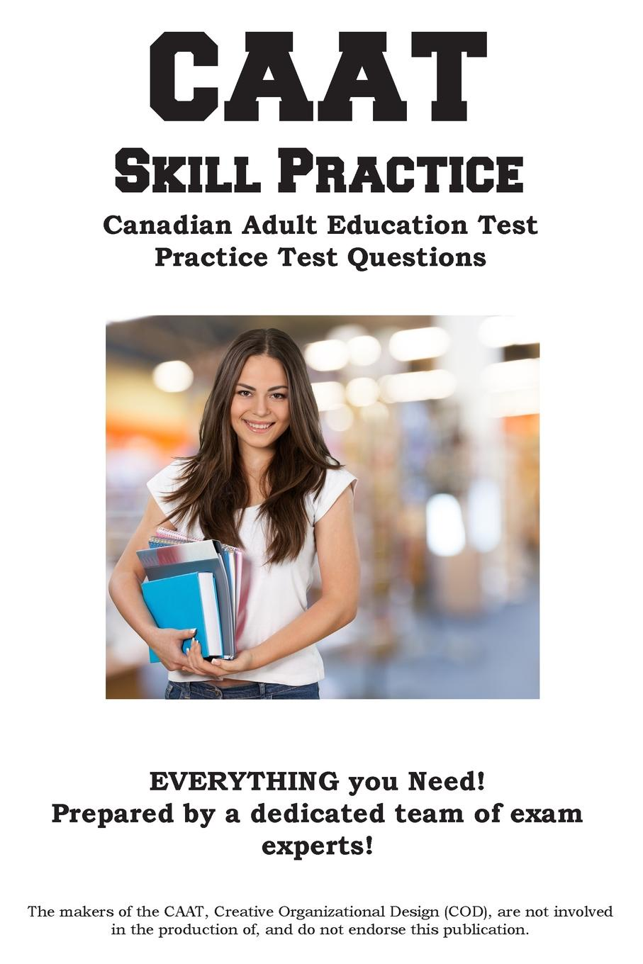 Complete Test Preparation Inc. CAAT Skill Practice. Canadian Adult Education Test Practice Test Questions block tsop28 ucos dedicated ic zy212a burning test socket adapter