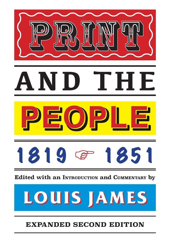 Louis James Print and the People 1819-1851 недорого