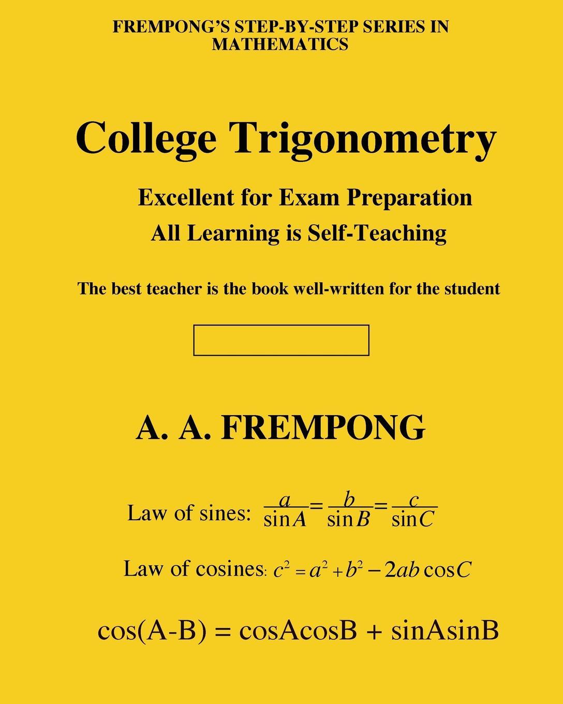 A. A. Frempong College Trigonometry discrete quartic and quintic spline interpolation