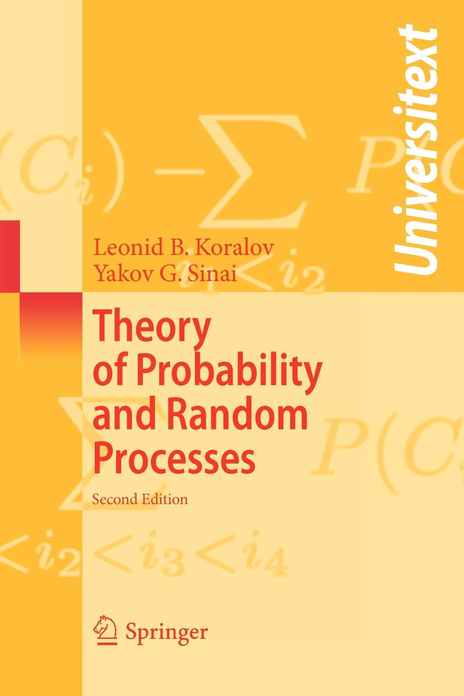 Leonid Koralov, Yakov G. Sinai Theory of Probability and Random Processes random floral print off the shoulder mini playsuits
