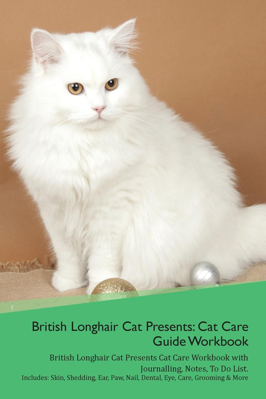 Productive Cat British Longhair Cat Presents. Cat Care Guide Workbook British Longhair Cat Presents Cat Care Workbook with Journalling, Notes, To Do List. Includes: Skin, Shedding, Ear, Paw, Nail, Dental, Eye, Care, Grooming . More cat ear headband