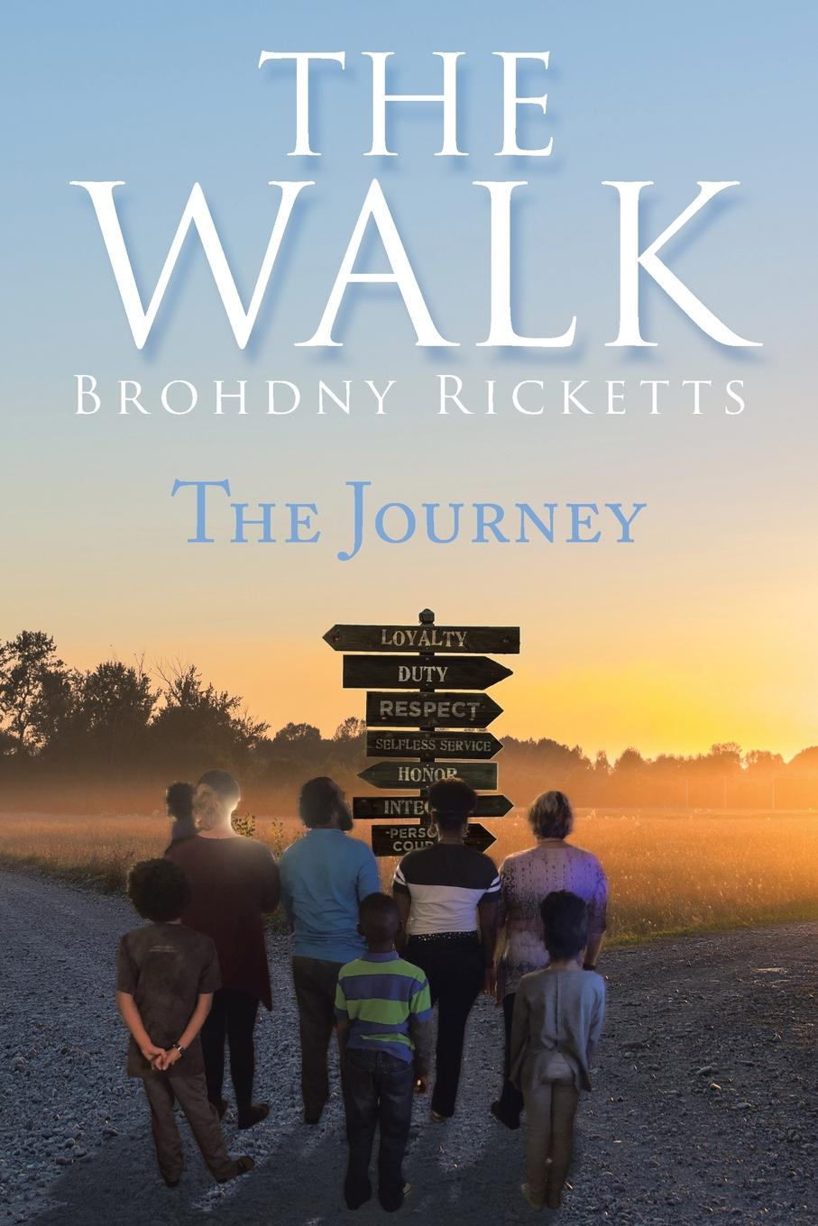 Brohdny Ricketts The Walk. The Journey same issue different presentations