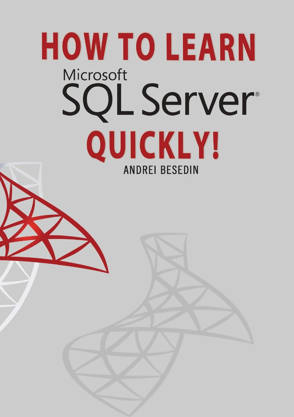 Andrei Besedin HOW TO LEARN MICROSOFT SQL SERVER QUICKLY. michael burchell no excuses how you can turn any workplace into a great one