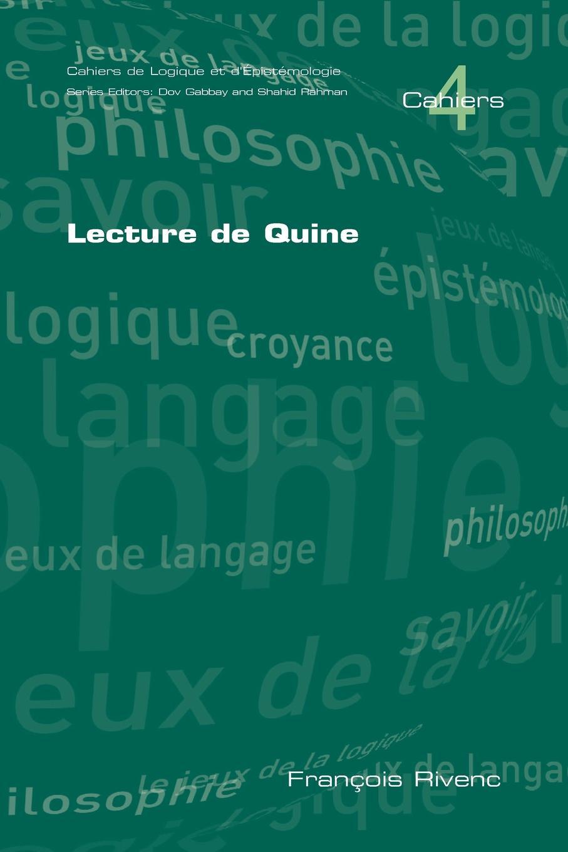 Francois Rivenc Lecture de Quine w v quine elementary logic first edition