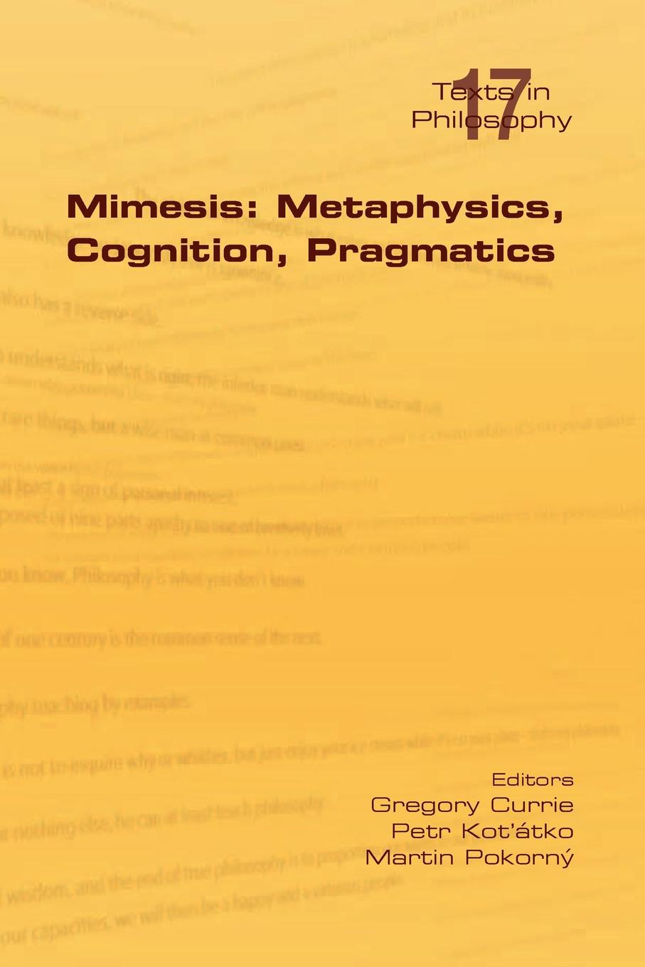 Mimesis. Metaphysics, Cognition, Pragmatics aaron meskin the art of comics a philosophical approach
