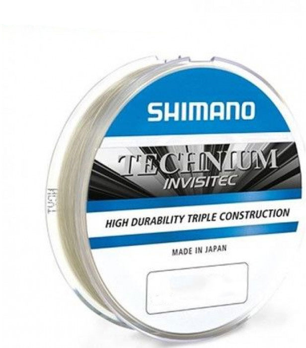 Леска Shimano Technium Invisi, 0,205 мм, 150 м, 4,2 кг леска shimano technium invisi 0 305 мм 150 м 9 кг