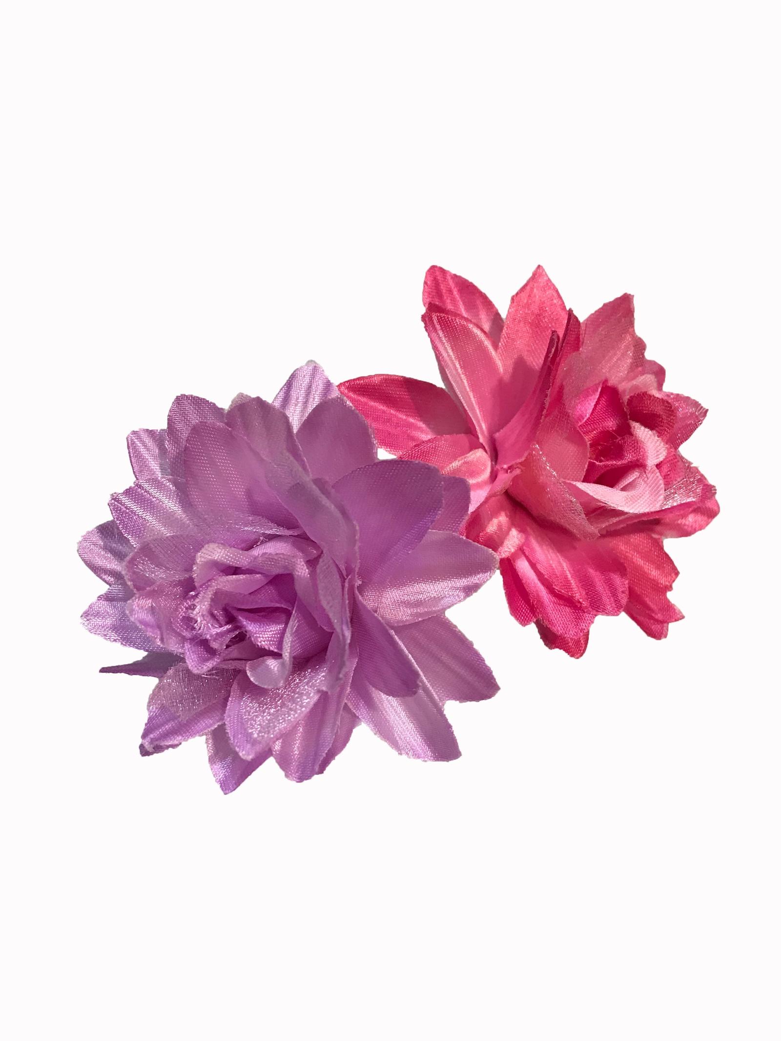 Резинка для волос Flowerstyle Набор резинок для волос Хризантемы, розовый, сиреневый набор резинок для волос power