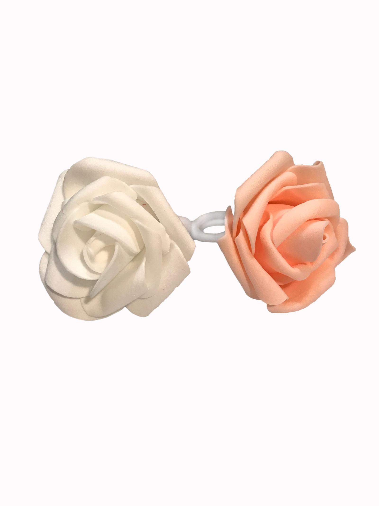 Резинка для волос Flowerstyle Набор резинок для волос Розочки, белый набор резинок для волос power