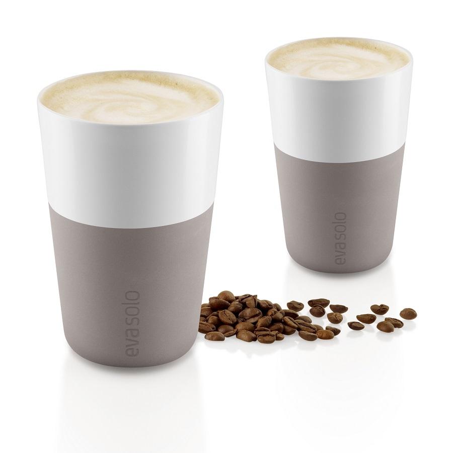 Набор кофейный Eva Solo Cafe Latte Tumbler Purple Grey, серый