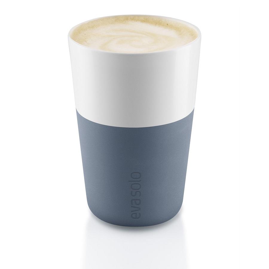 Набор кофейный Eva Solo Cafe Latte Tumbler Steel Blue, синий