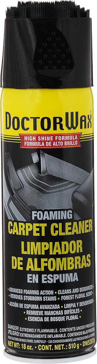 Очиститель для тканой и ковровой обивки Doctor Wax, DW5207S, пенный, 500 мл цена