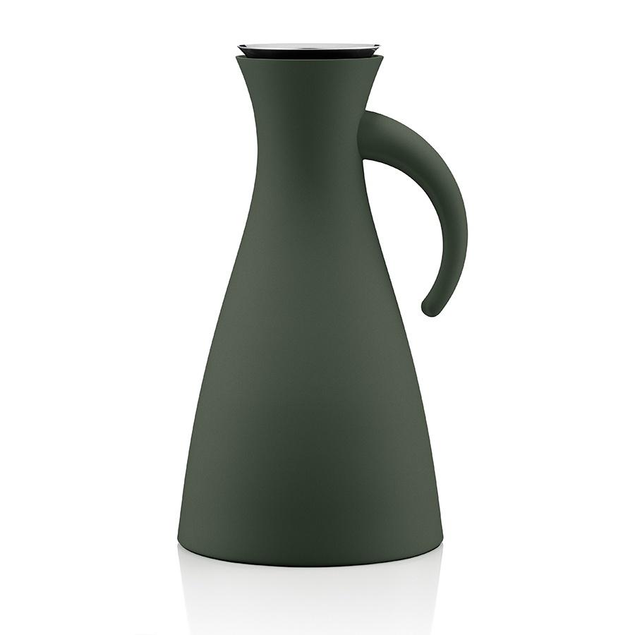 Термокувшин Eva Solo Vacuum Jug 1L Forest Green, темно-зеленый термокувшин eva solo vacuum jug 1l dark burgundy бордовый