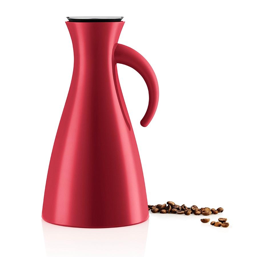 Термокувшин Eva Solo Vacuum Jug 1L Red, красный термокувшин eva solo vacuum jug 1l dark burgundy бордовый