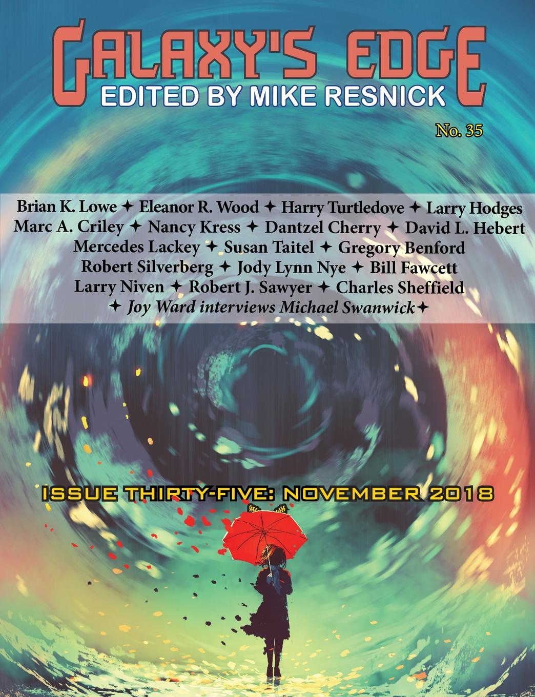 Harry Turtledove, Mercedes Lackey, Robert Silverberg Galaxy.s Edge Magazine. Issue 35, November 2018 hoodz dvd magazine issue 1