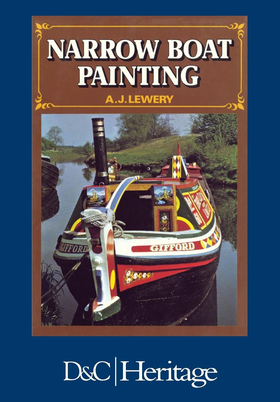 A. J. Lewery Narrow Boat Painting