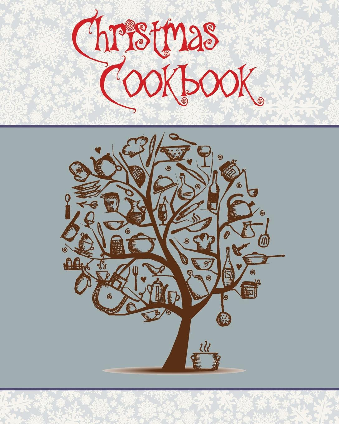 Journal Jungle Publishing Christmas Cookbook. A Great Gift Idea for the Holidays... Make a Family Cookbook to Give as a Present - 100 Recipes, Organizer, Conversion Tables and More... (8 x 10 Inches / White) kevin dundon great family food