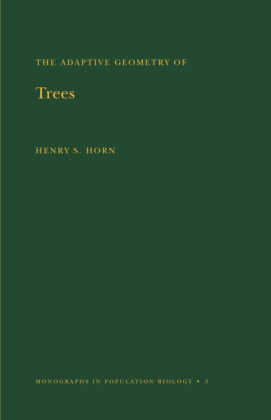 Henry S. Horn Adaptive Geometry of Trees. (MPB-3), Volume 3 forest leafy trees print tapestry wall hanging art
