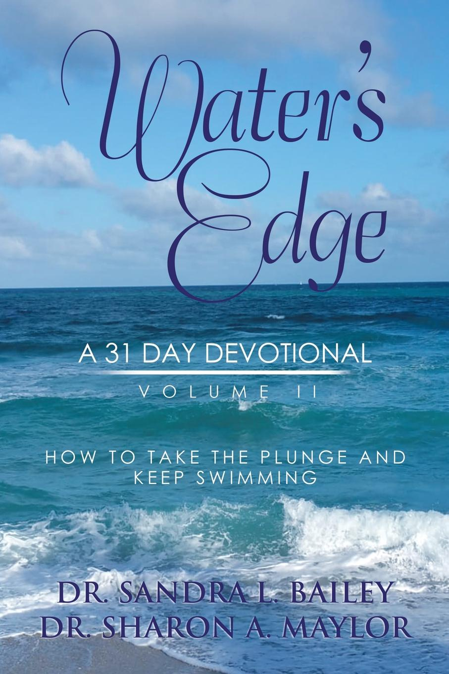 Dr. Sandra L. Bailey, Dr. Sharon A. Maylor Water.s Edge. A 31-Day Devotional, Volume 2 pair of vintage faux opal water drop earrings jewelry for women