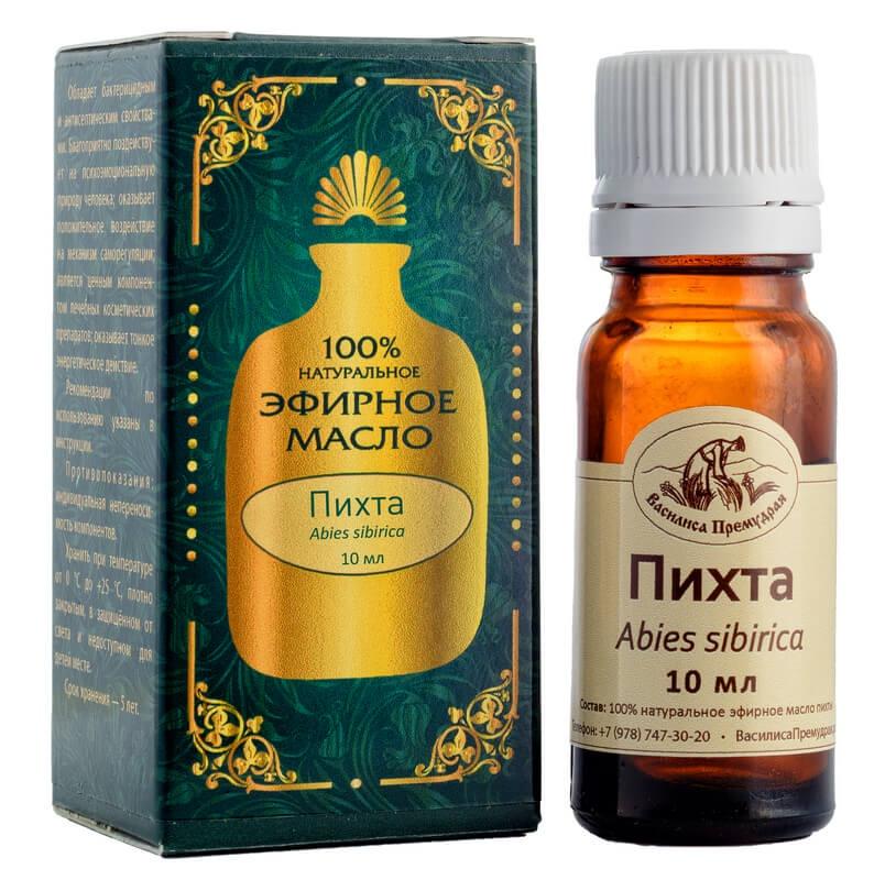 Эфирное масло Василиса Премудрая пихты 10 мл витамины при псориазе