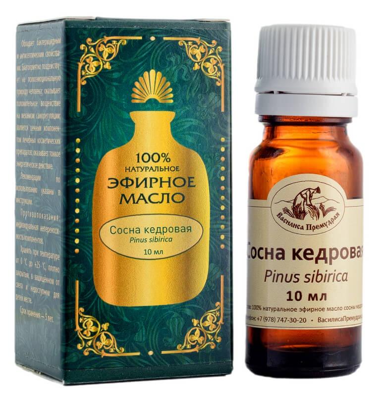 Эфирное масло Василиса Премудрая сосны кедровой 10 мл Используют для лечения экземы, псориаза. Обладает высокой проникающей...