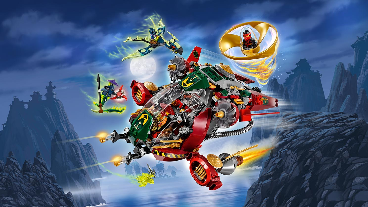 Пластиковый конструктор LEGO 70735