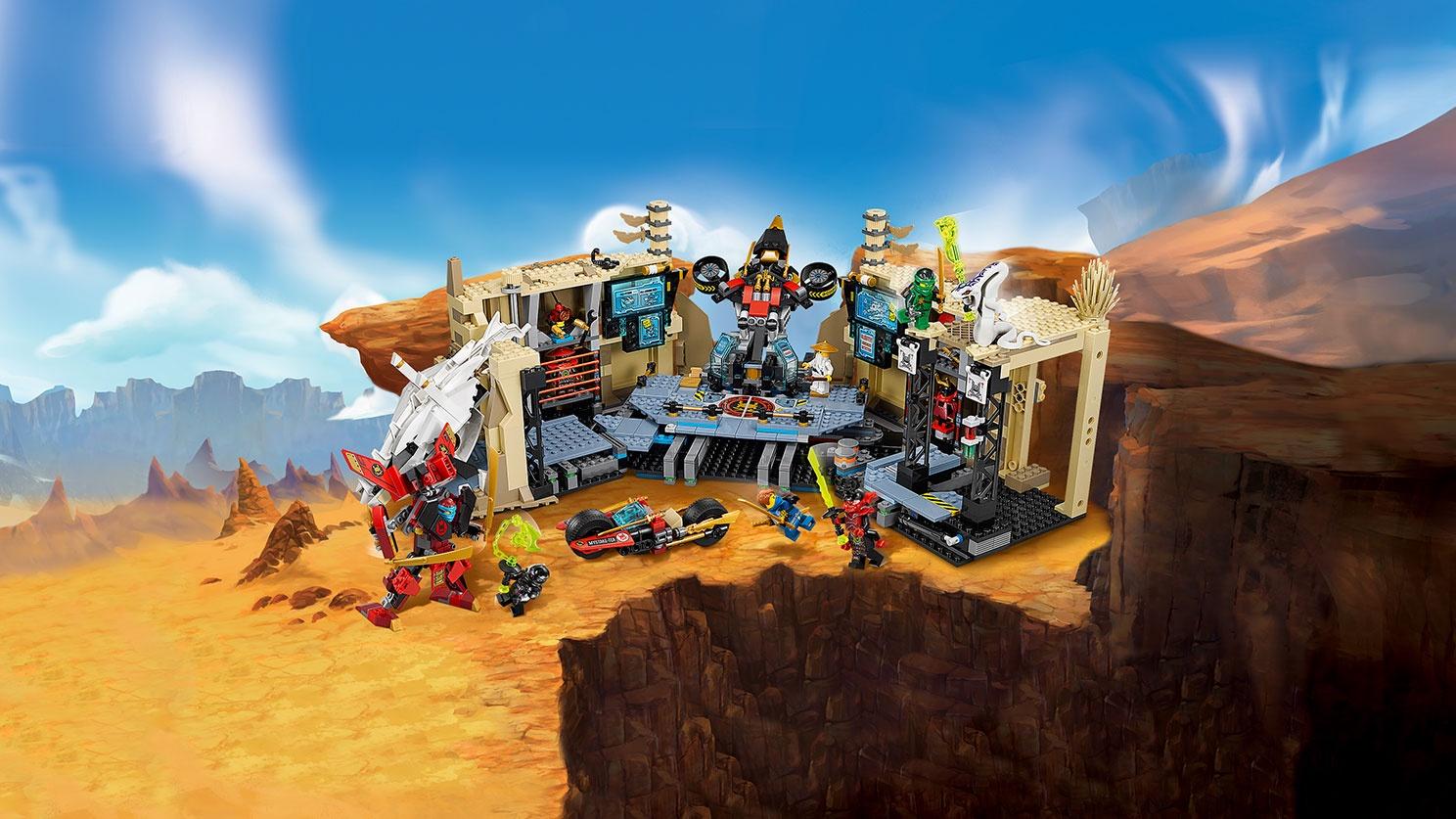 Пластиковый конструктор LEGO 70596