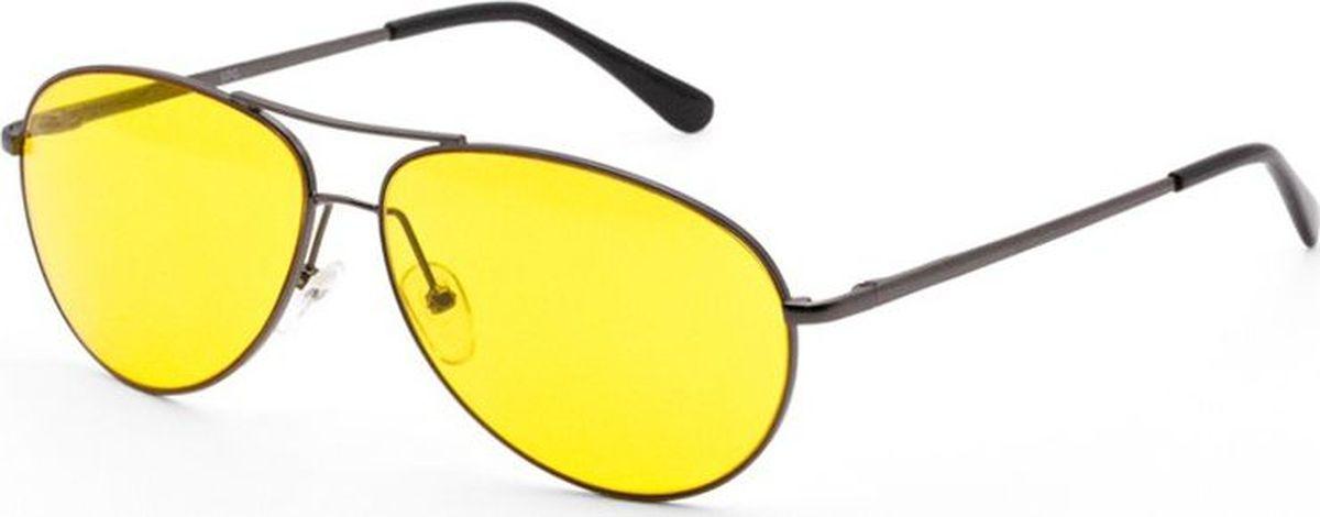 Очки для вождения SP Glasses, AD067_DG, желтый, серый sp glasses ad032 premium dark grey водительские очки