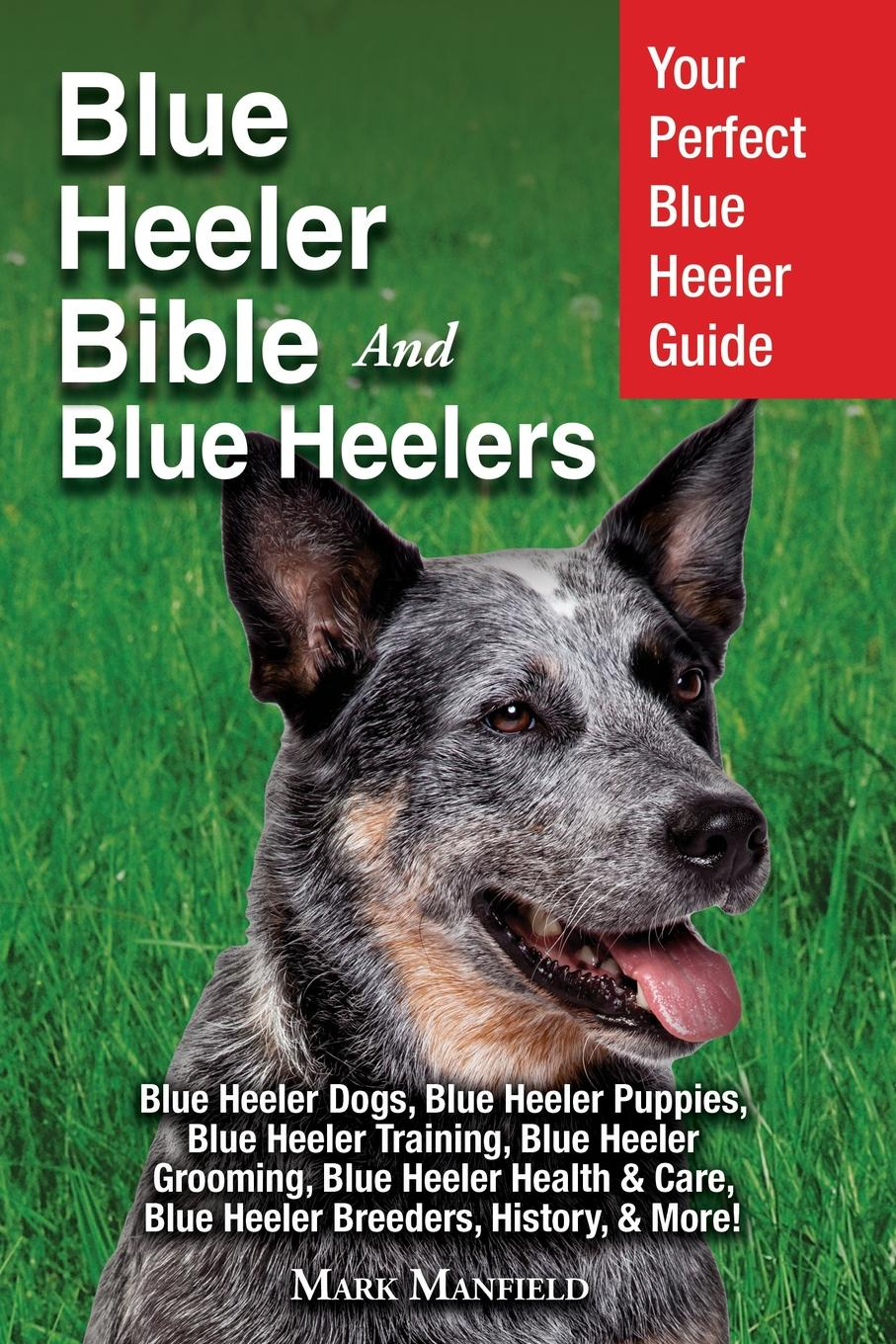 Mark Manfield Blue Heeler Bible And Heelers. Your Perfect Guide Dogs, Puppies, Training, Grooming, Health . Care, Breeders, History, More.