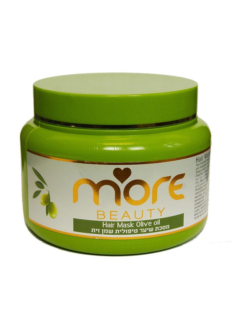 Фото - Маска для волос с Марокканским Оливковым маслом 250 мл, More Beauty vilenta маска для лица vitamin е с витаминами а е с маслами авокадо и арганы 28 мл