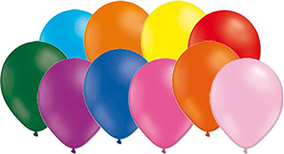 Воздушный шарик Miland, пастель ассорти, 100 шт, 35 см