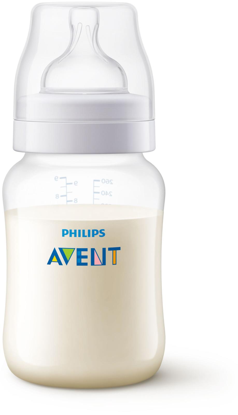 Бутылочка для кормления Avent Anti-colic, от 1 месяца, SCF813/17, 260 мл