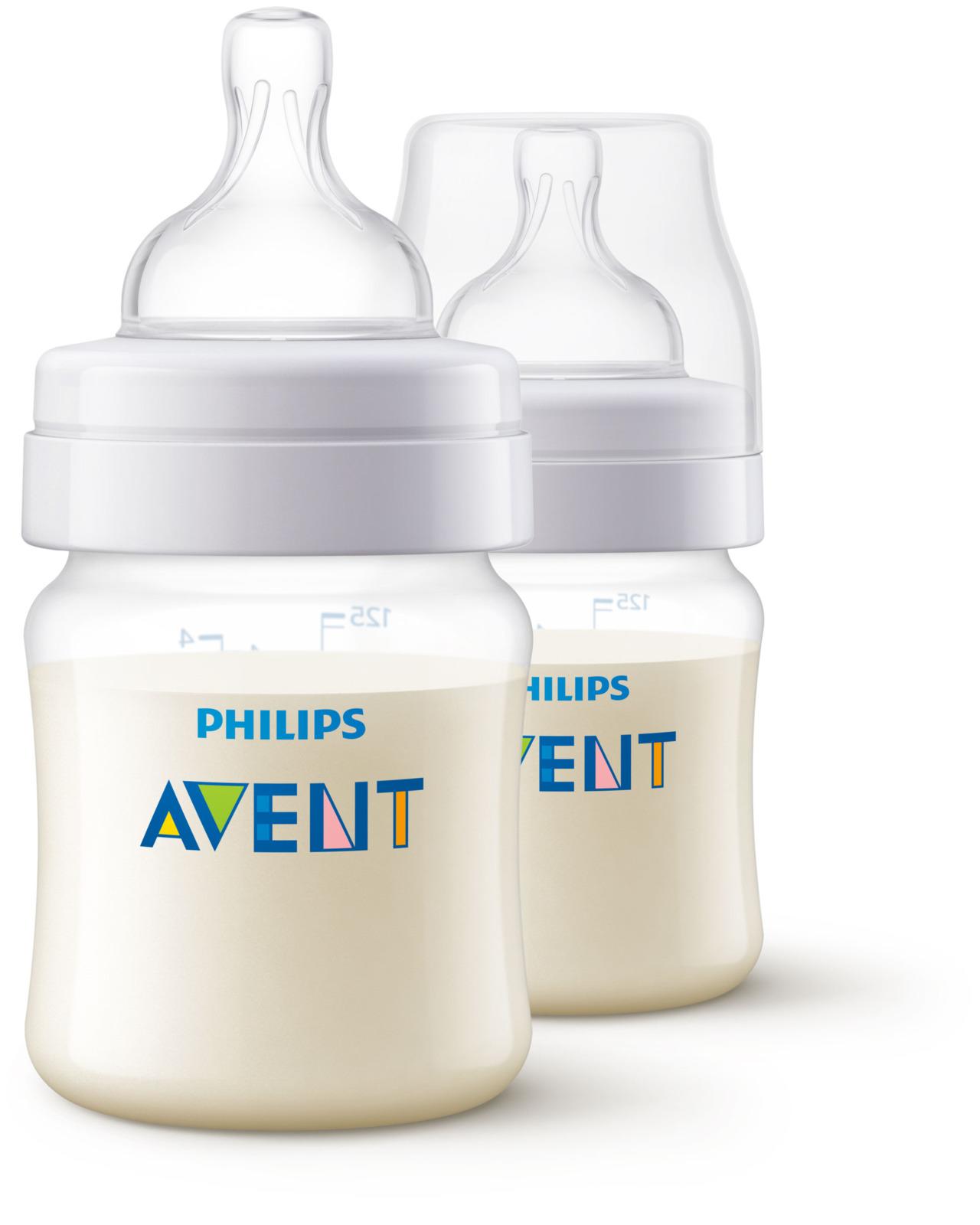 Бутылочка для кормления Avent Anti-colic, от 0 месяцев, SCF810/27, 125 мл, 2 шт