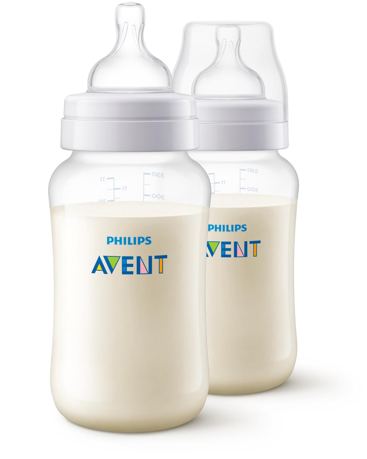 Бутылочка для кормления Philips Avent Anti-colic, от 3 месяцев, SCF816/27, 330 мл, 2 шт телевизор philips 32pht4132 60
