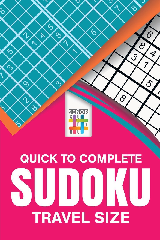 Senor Sudoku Quick to Complete Sudoku Travel Size цены онлайн