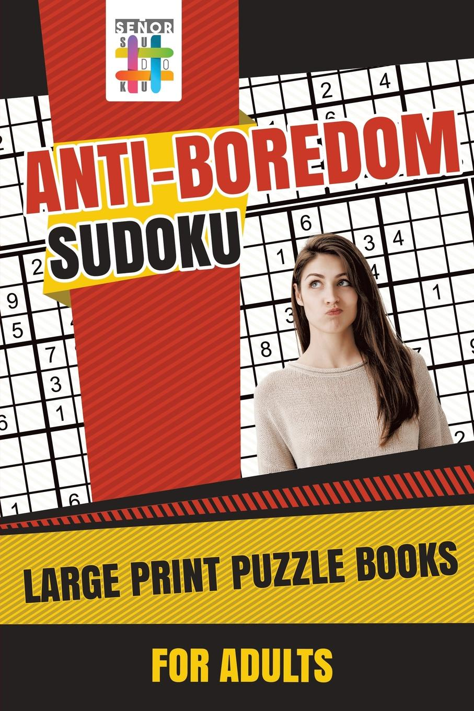 лучшая цена Senor Sudoku Anti-Boredom Sudoku Large Print Puzzle Books for Adults