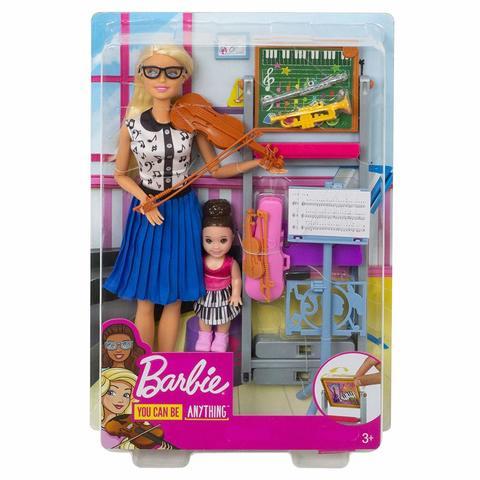 Игровой набор Mattel Набор игровой Barbie Кем быть Учитель музыки цена